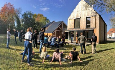 A Preuschdorf, un bâtiment innovant relève le défi de la construction en bois local