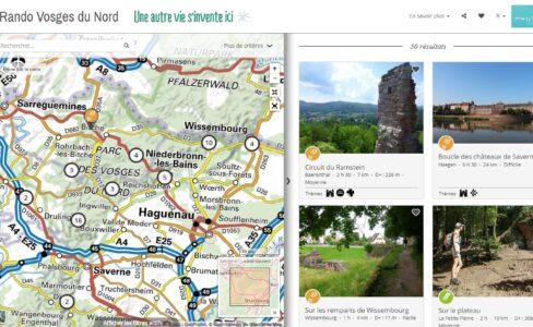 Idées et cartes pour vos randonnées dans les Vosges du Nord