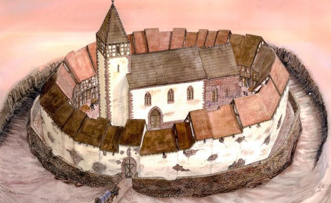 Refuge fortifié