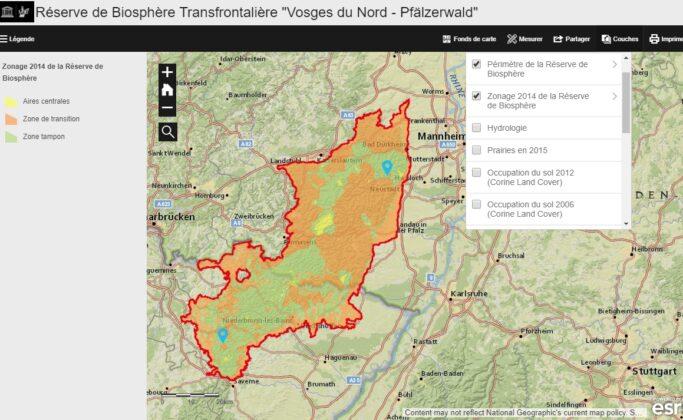 Observatoire Réserve de Biosphère Transfrontalière «Vosges du Nord – Pfälzerwald»