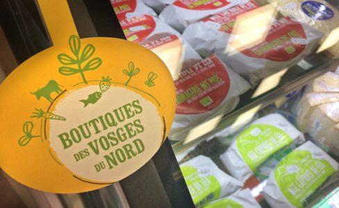 Le réseau des boutiques de produits du terroir des Vosges du Nord