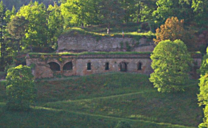 Le fort Saint-Sébastien