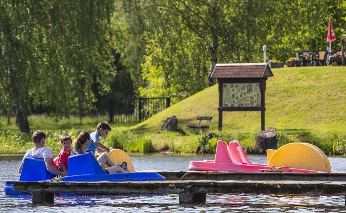 Base de loisirs de l'étang de Ramstein-Plage