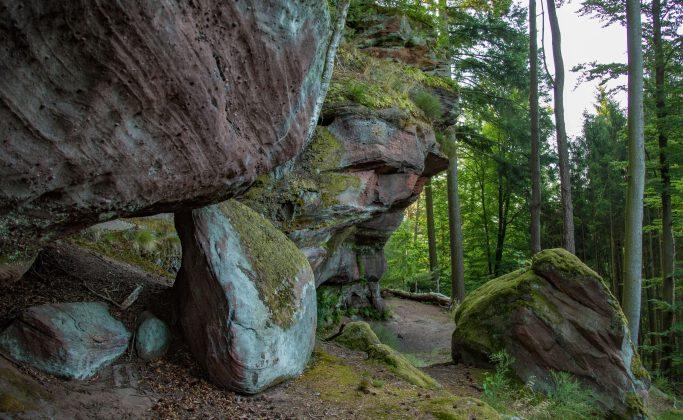 De rocher en rocher autour de La Petite-Pierre