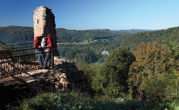 Les châteaux-forts et les étangs du Pays de Bitche