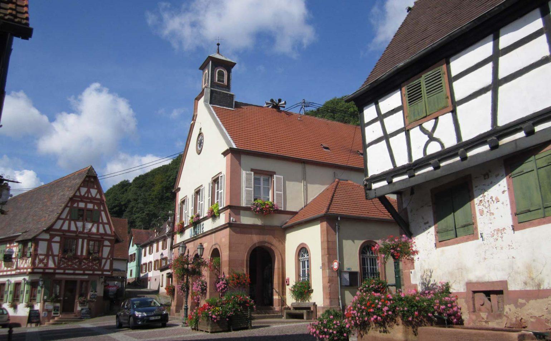 Un vieux village vigneron : Oberbronn