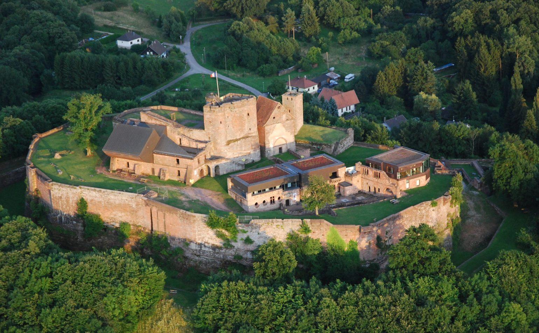 Visite ludique du château de Lichtenberg